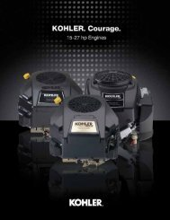 ENGINEERING - Kohler Engines