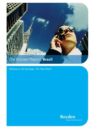 The Boyden Report: Brazil - Boyden Turkey