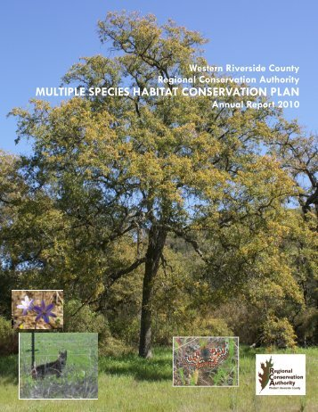 Annual Report 2010 (46.2 MB) - Western Riverside County Regional ...