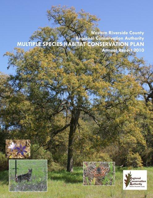 Annual Report 2010 (46.2 MB) - Western Riverside County Regional ...