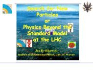 Beyond the Standard Model Physics at the LHC