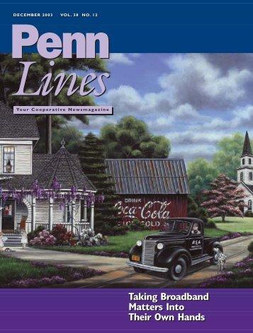 December 2003 - PREA - The Pennsylvania Rural Electric Association