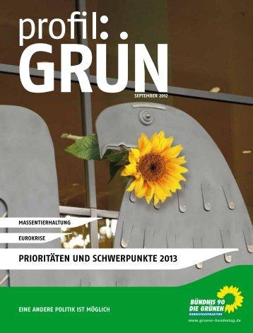 Profil Grün - Bundestagsfraktion Bündnis 90/Die Grünen