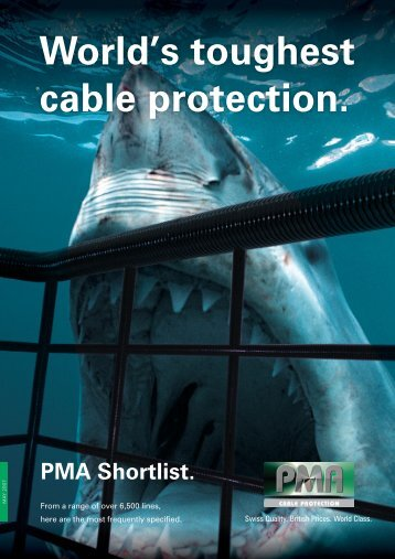 Download PMA Cable Protection PDF - Northern Connectors