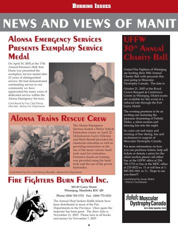 Fall 2005 Issue - Office of the Fire Commissioner