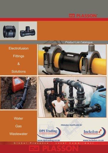 Plasson Electrofusion Fittings SA Catalogue - Incledon