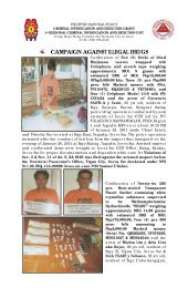 campaign against illegal drugs - CIDG - Philippine National Police