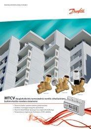MTCV daugiafunkciniai termostatiniai ventiliai KV ... - Danfoss