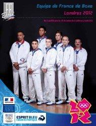 A : Plaquette de présentation - Fédération Française de Boxe