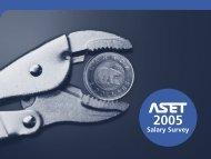 ASET Salary Survey Report 2005