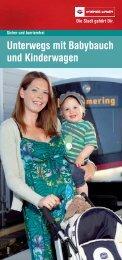 Unterwegs mit Babybauch und Kinderwagen - Wiener Linien