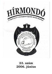 2006.június - Szegedi Karszt- és Barlangkutató Egyesület