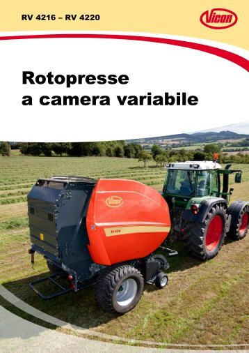 Vicon Rotopresse RV 4200 - Attrezzature Agricole