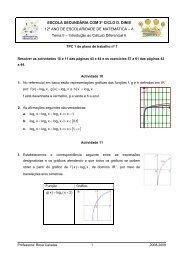 Resolver as actividades 10 e 11 das páginas 43 e 44 e os ...