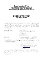 ZNALECKÝ POSUDEK číslo: 4961-1107/2012 - OKdrazby.cz