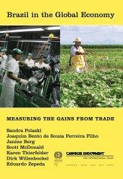 Brazil in the Global Economy - Carnegie Endowment for ...