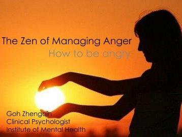 The Zen of Managing Anger