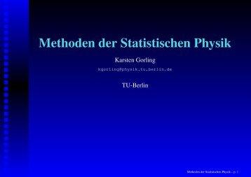 Monte-Carlo Simulation - TU Berlin