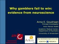 Why gamblers fail to win: evidence from neuroscience