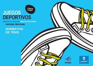 Normativa juegos deportivos escolares y municipales - Miguel Crespo