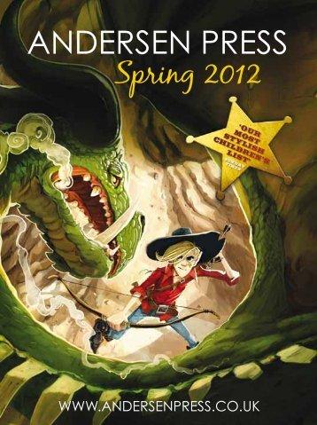 Spring 2012 Catalogue - Andersen Press