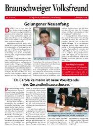 Braunschweiger Volksfreund Ausgabe 2009-4 - Klaus-Peter ...