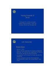Se hele presentasjonen her - Oslo Vest Rotary Klubb