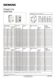 Ficha Técnica - Chaves de partida 3TW - Industry