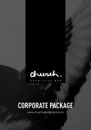 Church Corporate Package