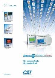 Catalogo PLC Crouzet Millenium - Setec-Group