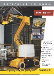 Haulotte HA15IP - Facelift