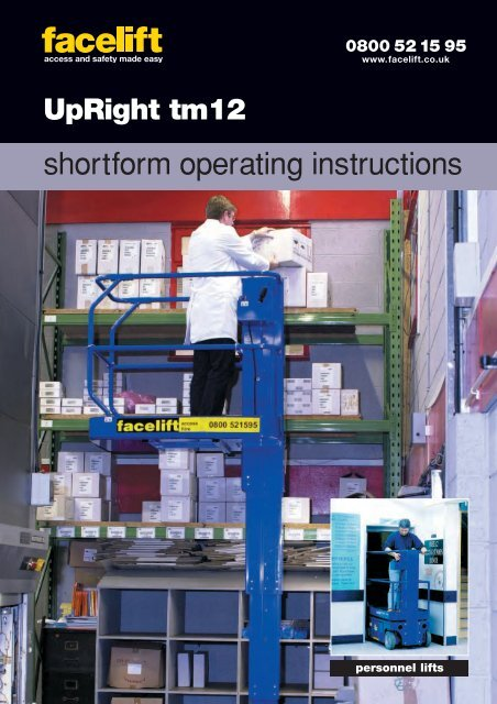 15541 UpRight TM12 - Facelift
