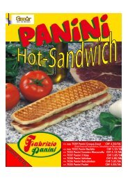 Panini-Grill Promotion 08 - Gmür AG