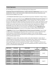 Terms of Agreement By submitting this form you ... - Rockford Fosgate