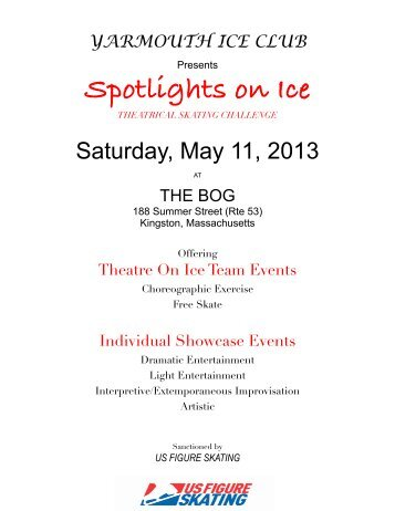 2013 Spotlights on Ice - Yarmouth Ice Club