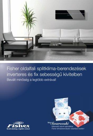 Fisher oldalfali katalógus 2012 - Frigovill 2 Kft.
