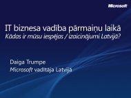IT biznesa iespējas un izaicinājumi krīzes laikā - LIKTA