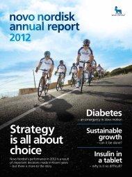 Annual Report 2012 - Novo Nordisk Australasia