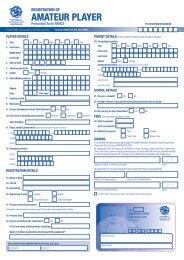 Registration Form - MyFootballClub