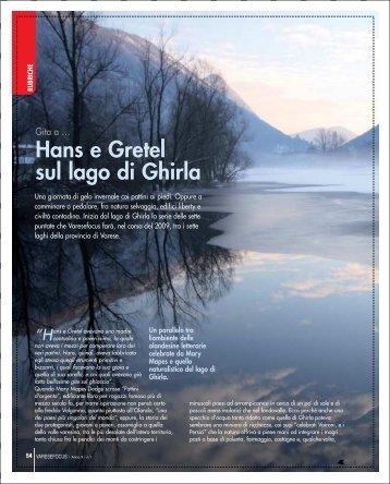 Hans e Gretel sul lago di Ghirla - Varesefocus