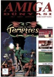 Amiga Dunyasi - Sayi 27 (Agustos 1992).pdf - Retro Dergi