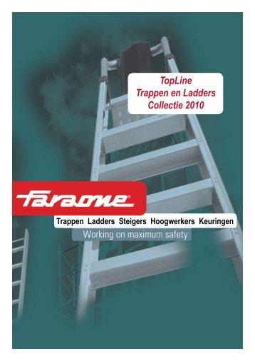 TopLine Trappen en Ladders Collectie 2010 - Veenma