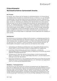 Entwurf Eckpunktepapier Drewitz (PDF) - Gartenstadt Drewitz