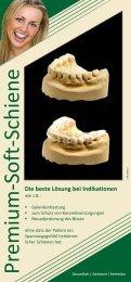 Premium-Soft-Schiene - Dental-Labor-Schierz