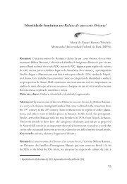 Identidade feminina no Relato de um certo Oriente - Revista ...