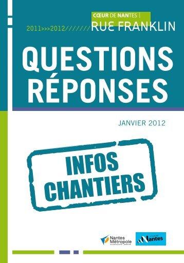 Questions réponses - Nantes
