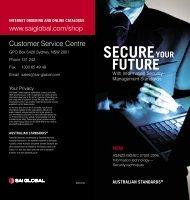 Contact Us - SAI Global