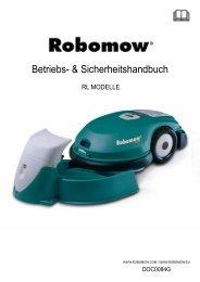 Bedienungsanleitung - Robomow RL2000 - myRobotcenter