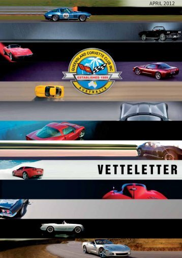 vetteletter april 2012.pdf - qld corvette club inc