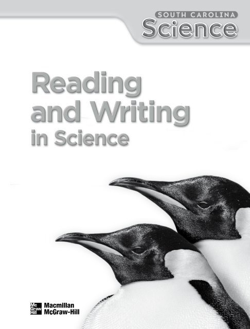 Reading And Writing In Science Grade 3 Macmillan McGraw Hill